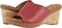 Red Moroccan Leather
