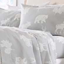 Home Fashion Designs Flannel Sheets Full Winter Bed Sheets Flannel Sheet Set Forest Animals Flannel Sheets 100% Turkish Cotton Flannel Sheet Set. Stratton Collection (Full, Forest Animals)