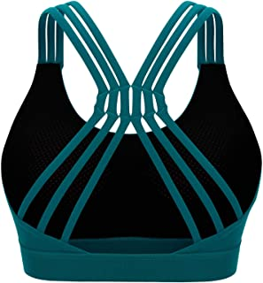 Sports Bras Large Size Push Up Backless Yoga Bra Gym Workout Solid Tank Top Active Wear Women High Impact Crop Tops