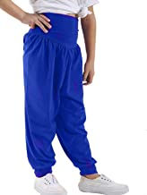 Loxdonz Kids Harem Loose Casual Baggy Sports Dancing Pants Girls Harem Children Trouser