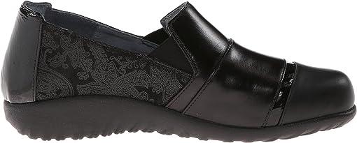 Black Lace Nubuck/Metallic Road Leather/Black Madras Leather/Jet