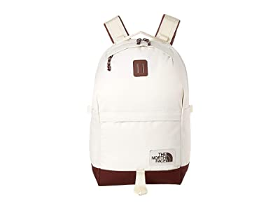 The North Face Daypack (Vimtage White/Sequoia Red) Backpack Bags