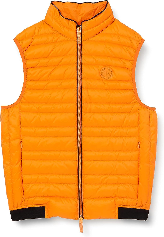 Armani Exchange A| x Zip Up Vest Chaleco de Plumas para Hombre