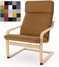Leaf Ikea Seat Cover Orange Leaves Poang Chair Cover Tropical Ikea Cushion Cover