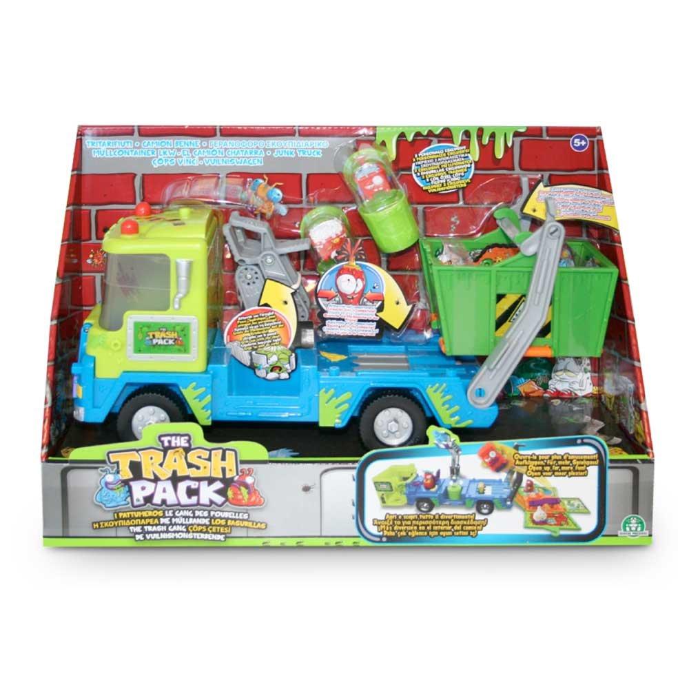 Trash Pack S4 Los Basurillas - Camión de chatarra con basurillas, 34 x 11 x 23 cm (Giochi Preziosi 68107): The Trash Pack Junk Truck: Amazon.es: Juguetes y juegos