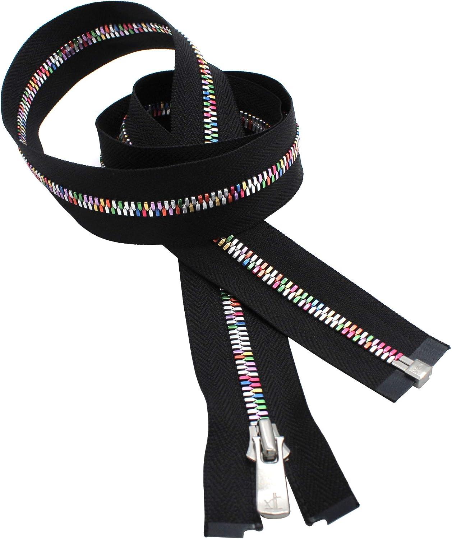 YKK Excella Rainbow Zipper 36