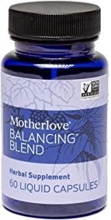 Motherlove Balancing Blend (60 caps) Herbal Supplement to Support Reproductive Health for Women and Those Who Menstruate—N...