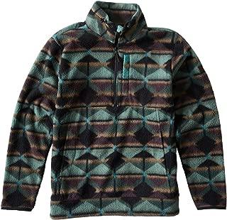 Men's Boundary Mock Half Z Sweater
