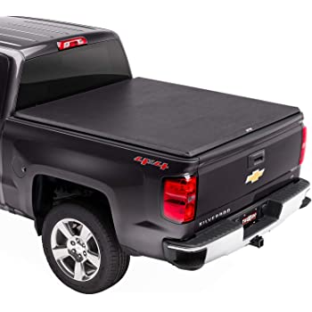 "TruXedo TruXport Soft Roll Up Truck Bed Tonneau Cover | 271801 | fits 14-18, 2019 Limited/Legacy GMC Sierra & Chevrolet Silverado 1500 5'8"" bed"