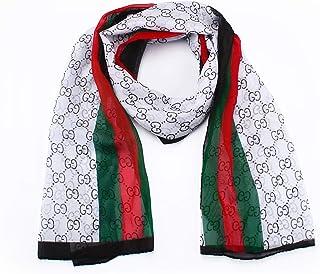EGELIN Women's Silk Like Scarf Sunscreen Shawl Wrap Cozy Lightweight Scarves For Women