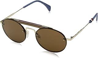 Tommy Hilfiger Women's Gigi Hadid 3/s GIGI3S Round Sunglasses, 0J5G 70, 99 mm