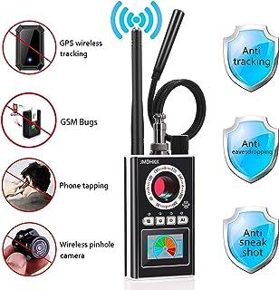Anti Spy RF Detector Bug Detector Camera Finder Radio Scanner for GPS Tracker GSM Listening Device Hidden Camera Laser Lens