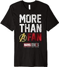 Marvel Studios Ten Years More Than A Fan Premium T-Shirt