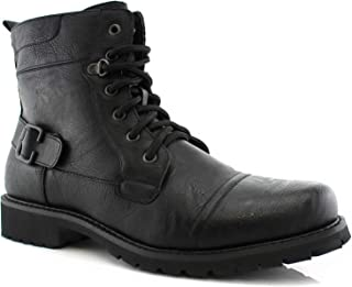 Best polar fox mens military ankle boots Reviews