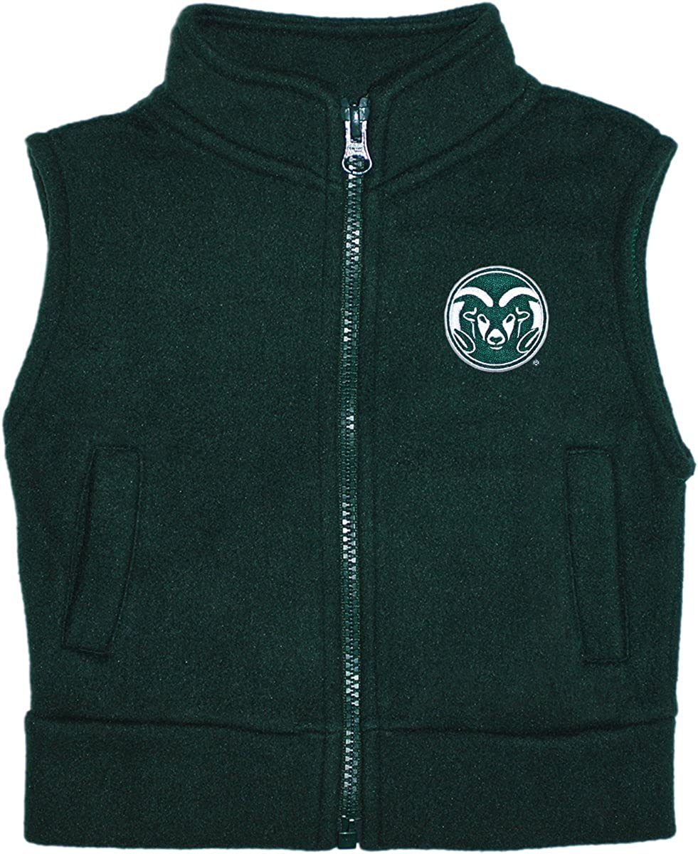 Colorado Raleigh Mall State University Rams Baby Toddler Polar Fleece Ves and Dealing full price reduction