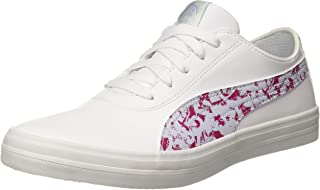 Puma Women's Urban Graphicster Wn S Idp White-be Sneakers