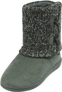Indoor Women Slippers Warm Soft Fleece Bootie Slippers House Shoes