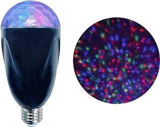 NOMA Rotating LED Projector Light Bulb | Ideal for Christmas | Swirling Winter Wonderland Light Display | E26 | Multi-Color