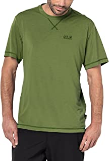 Jack Wolfskin Men's Crosstrail T Quick Drying and Odor Inhibiting