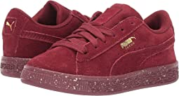Suede Classic Tonal Speckle (Little Kid)