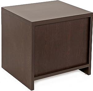 Bluewud Oliver Side Table (Wenge)