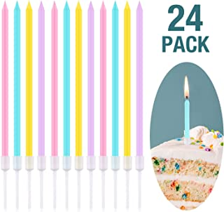 pink candles birthday