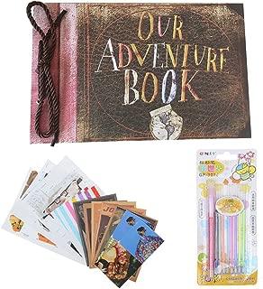 Our Adventure Book Photo Album DIY Scrapbook Album, Retro Album, Wedding Photo Album, Anniversary Scrapbook