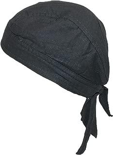 CTM Cotton Premium Lined Solid Do Rag Bandana