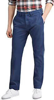 Polo Mens Natural-Rise Classic-Fit Chino Pants
