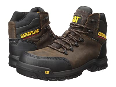 Caterpillar Resorption Waterproof Composite Toe (Seal Brown Leather) Men