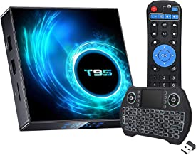 Android TV Box 10.0, Android Box 2GB Ram 16GB ROM Quad Core 64 Bits Media Player Dual WiFi 2.4G/5G Bluetooth 5.0 6K/4K/3D/...
