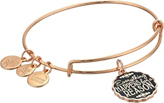 Alex and Ani Words are Powerful Everything Happens for A Reason Bangle Bracelet