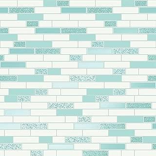 Tiling on a Roll Oblong Granite Tile Wallpaper - Teal Holden 89190