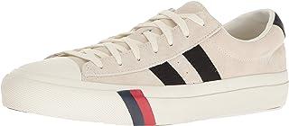 PRO-Keds Men's Royal Plus Classic Suede Sneaker, Cream, 9 Medium US