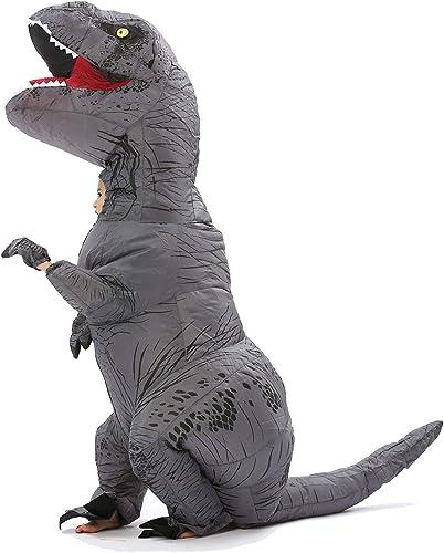 Con precio barato para obtener la mejor marca. JYZCOS - - - Disfraz Hinchable T-Rex de Dinosaurio  artículos novedosos