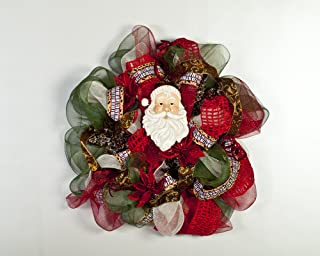 Learn How to Create Beautiful Deco Mesh Wreaths and Decorations for Home Decor Holiday Decomesh...
