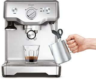 SAGE SES810 the Duo Temp Pro, Cafetera espresso, Cappuccinatore, 15 Bar, Acero Inoxidable
