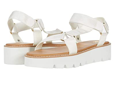 Seychelles BC Footwear by Seychelles Eye On The Prize (White Fabric) High Heels