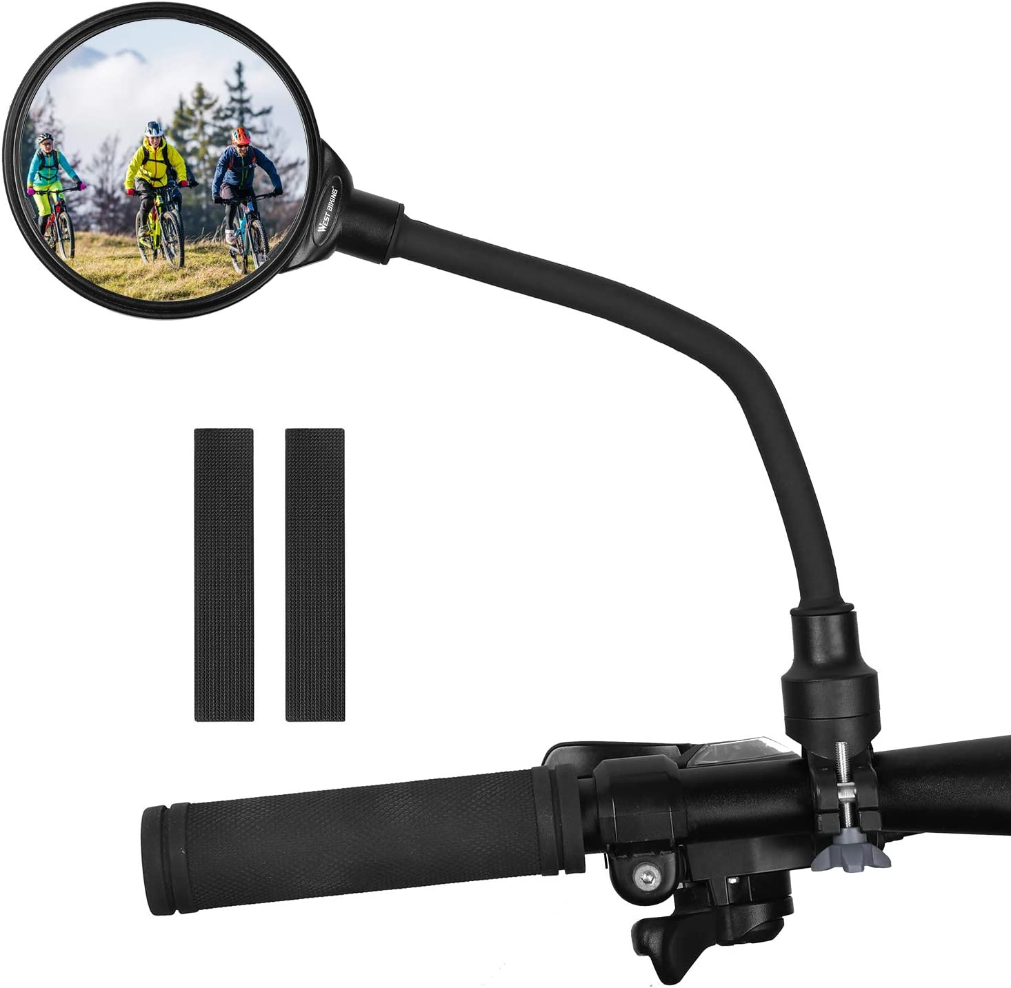 Lasting Bicycle Rear View Mirror Mount Holder Clamp Motorcycle Accessories