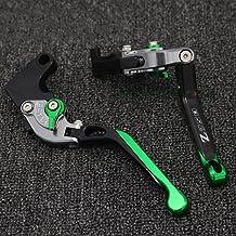 Z750//S 2004-2006 verde Leve freno frizione Set corto per ZZR600 1990-2004 ninja650R 2006-2008