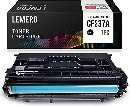 LEMERO Compatible Toner Cartridge Replacement for HP 37A CF237A for Laserjet Enterprise M607n M608dn M607dn M608x M608n M609dn Laserjet Enterprise MFP M632 M633 M631 (1 Black)