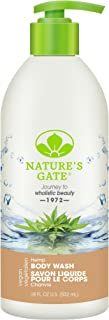 Nature's Gate Natural Hemp Velvet Daily Reviving and Refreshing Body Wash, Vegan, Gluten Free, Paraben Free, Sulfate Free,...