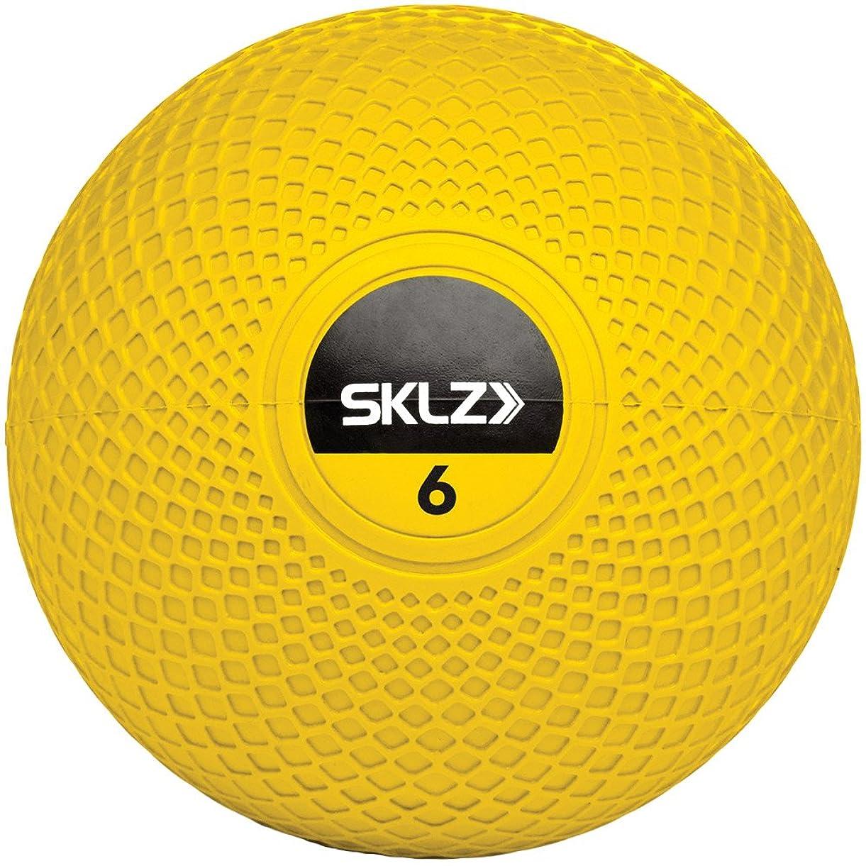 電極出来事優れたSKLZ(スキルズ)メディシンボール 6ポンド MED BALL 029010