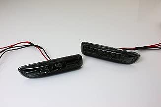 Smoke LED Side Marker Lights Indicator for 98-01 BMW E46 Sedan / 99-03 BMW E46 Coupe