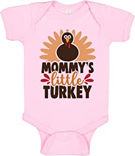 T Shirt Jerks Mommy`s Little Turkey Onesie, Cute Baby Thanksgiving Jumpsuit, Thanksgiving Baby Clothes