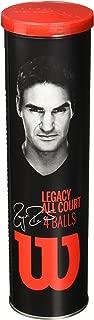 Wilson - WRT11990M - Roger Federer Legacy All Court Tennis Balls - 4 Ball Cans/18 Cans