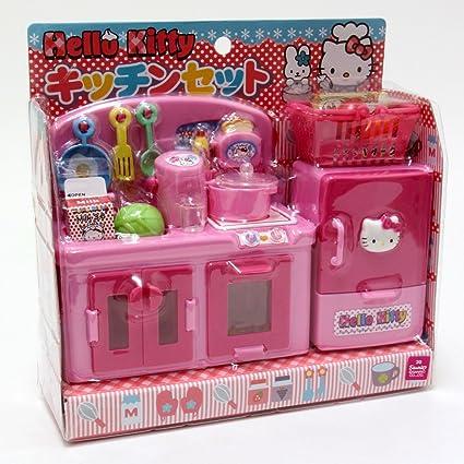Hello Kitty Kitchen Set Amazon De Spielzeug