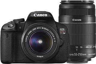 Canon デジタル一眼レフカメラ EOS Kiss X6i ダブルズームキット EF-S18-55mm/EF-S55-250mm付属 KISSX6i-WKIT