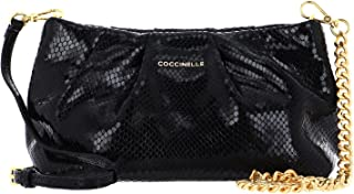 Coccinelle Ophelie Snake Handbag Noir