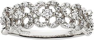 [VENDOME 青山] VENDOME AOYAMA 【2019年1月14日为止的期间价格】 铂金 钻石 铬 戒指